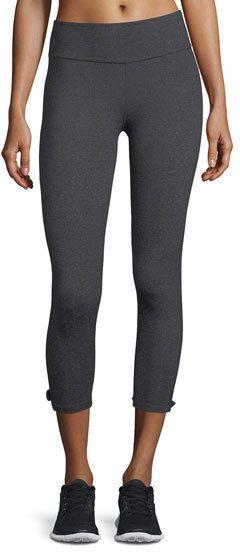 Beyond Yoga x kate spade new york leaf bow performance capri leggings