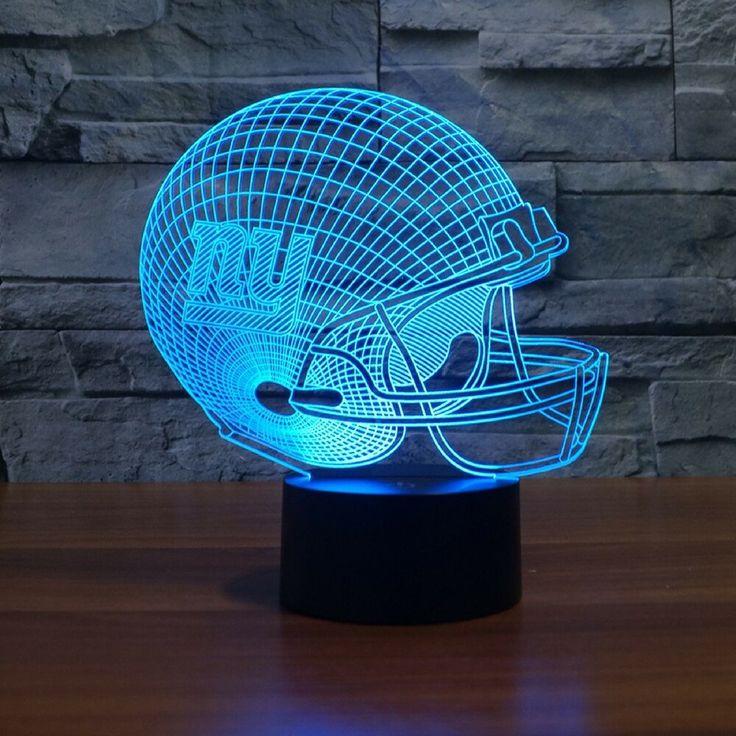 NFL NEW YORK GIANTS 3D LED LIGHT LAMP