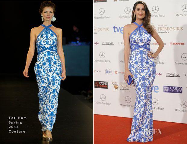 Mar Saura In Tot-Hom Couture - Iris Awards - Red Carpet Fashion Awards