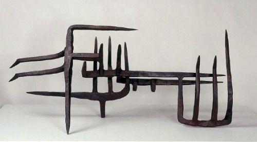 Eduardo Chillida. Musica Callada - 1955.