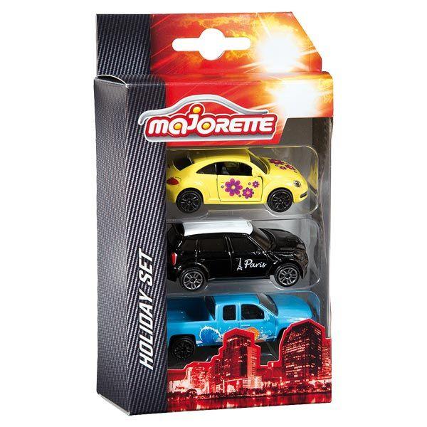Set 3 véhicules Majorette : King Jouet, Voitures radiocommandées Majorette - Véhicules, circuits et jouets radiocommandés