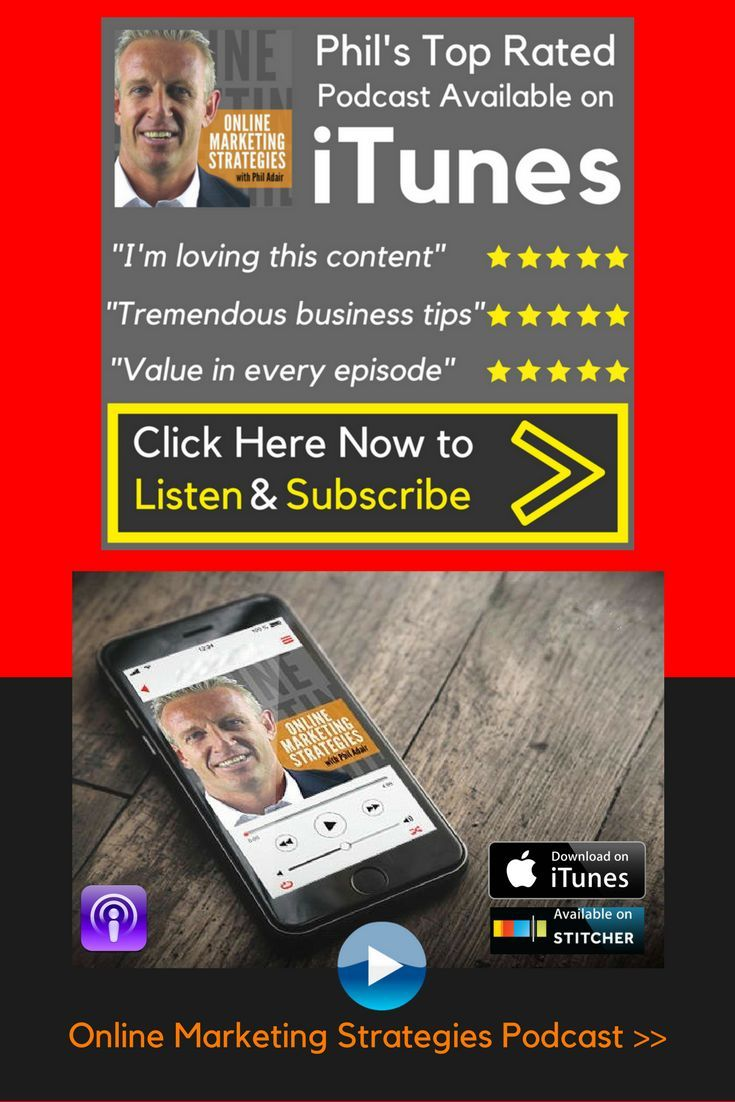 I'm Phil Adair. Welcome To My Online Marketing Strategies Podcast Show. Join Me And Start Listening Now! Weekly #Interviews, #Strategies And Advice For #Building Your #Online #Business http://www.hotclicks.com.au/online-marketing-strategies-podcast/