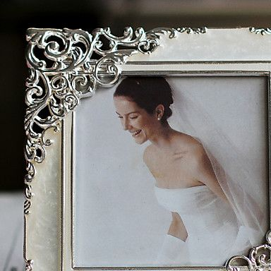 Modern Style Floral Wedding Picture Frame – USD $ 9.99