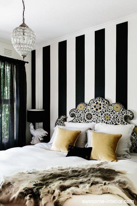 best 25 vertical striped walls ideas on pinterest striped walls striped walls bedroom and. Black Bedroom Furniture Sets. Home Design Ideas