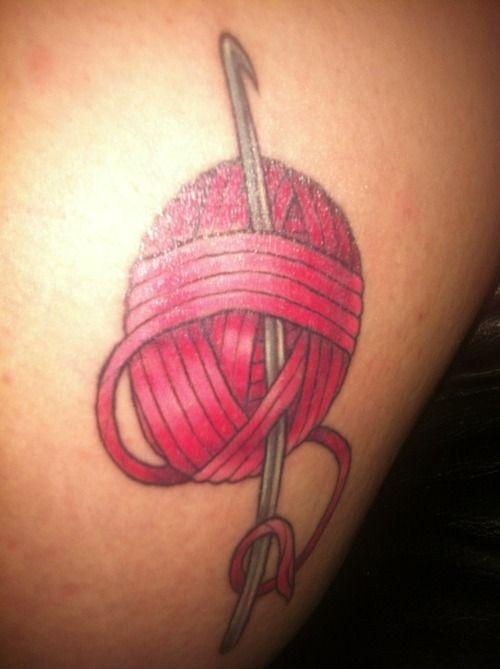 Crocheting Tattoos : crochet Tattoos & Piercings Pinterest