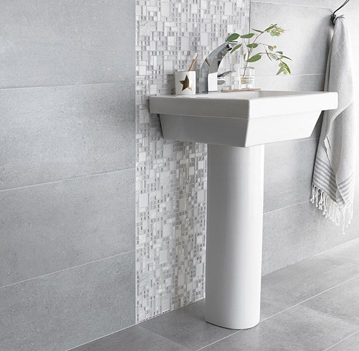 Latest Tiles For Bathroom: On-trend Inspiration! Our New Orion Glass Mosaic With Soho