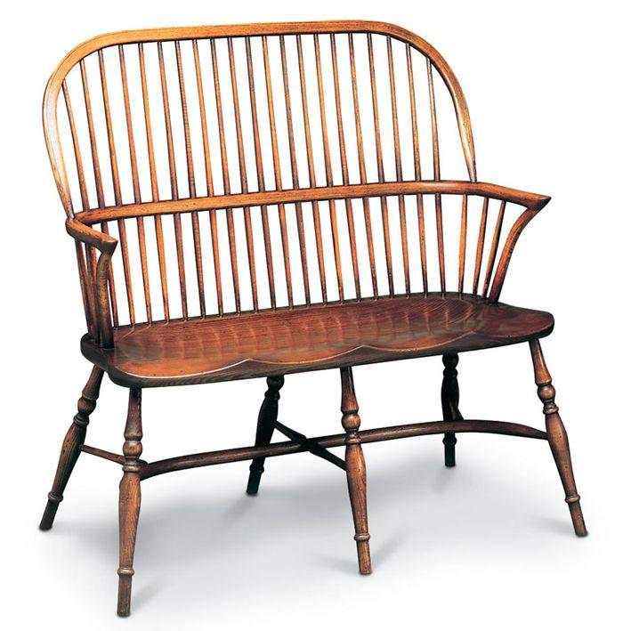 Windsor Stühle Und Bänke : Windsor Bank