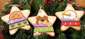 Star Ornaments set of 3