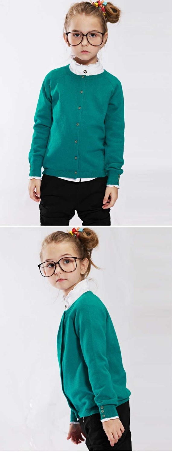 Free Shipping Girls Cardigans Little Girl Casual Sweatshirts Fashion Wear, 6pcs/lot K0302