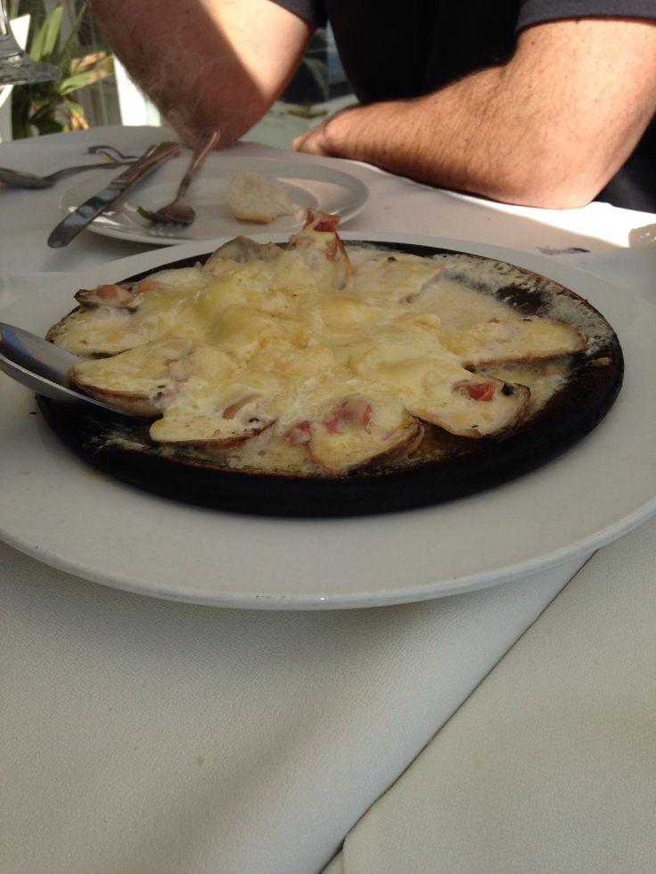 Machas a la parmesana Maintencillo Chile