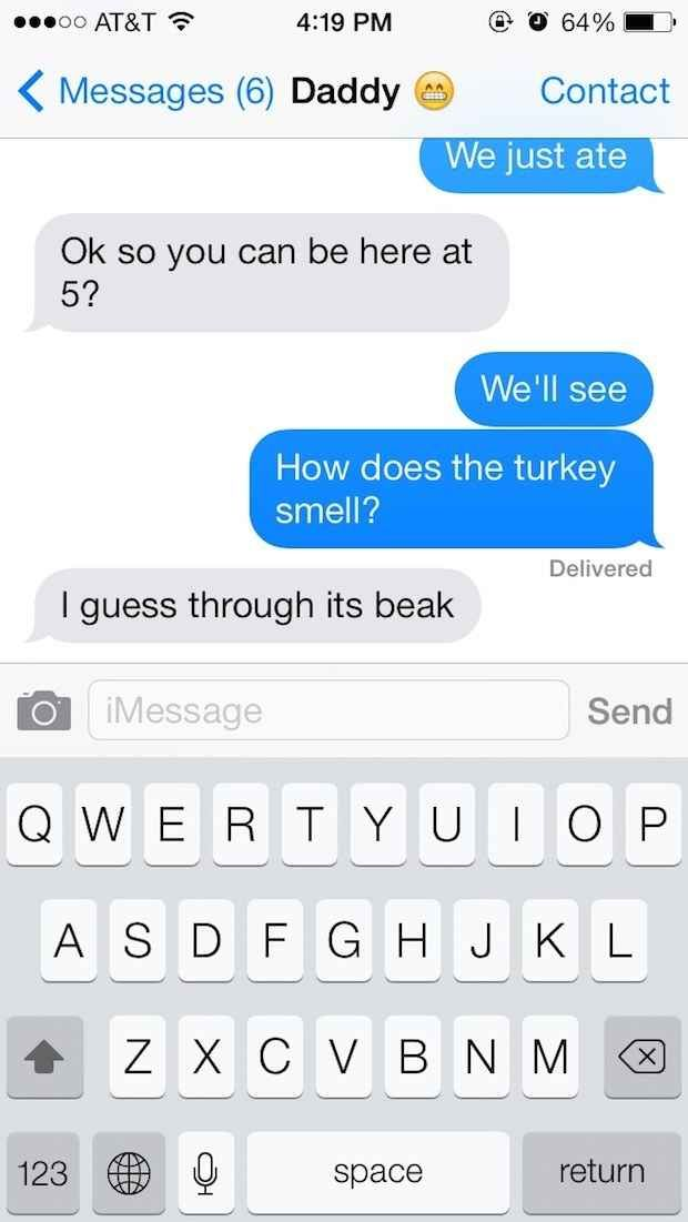 The Cooking Turkey Joke:   The 25 Absolute Greatest Dad Jokes Of All Time