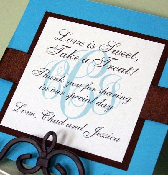 Wedding Candy Table Sign by ThePreppyLadybug on Etsy, $12.00