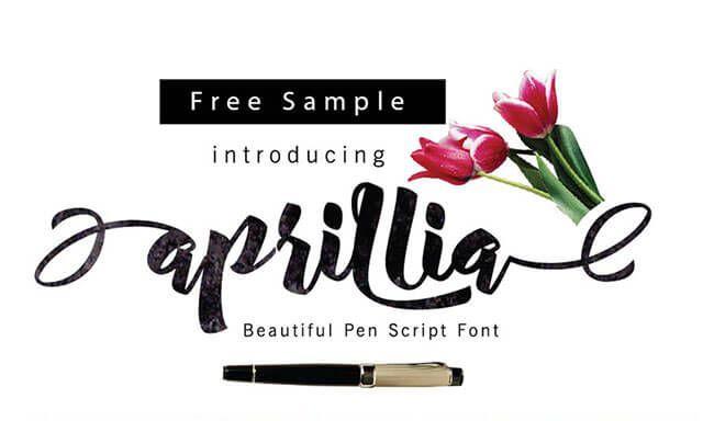 01_aprillia-free-font