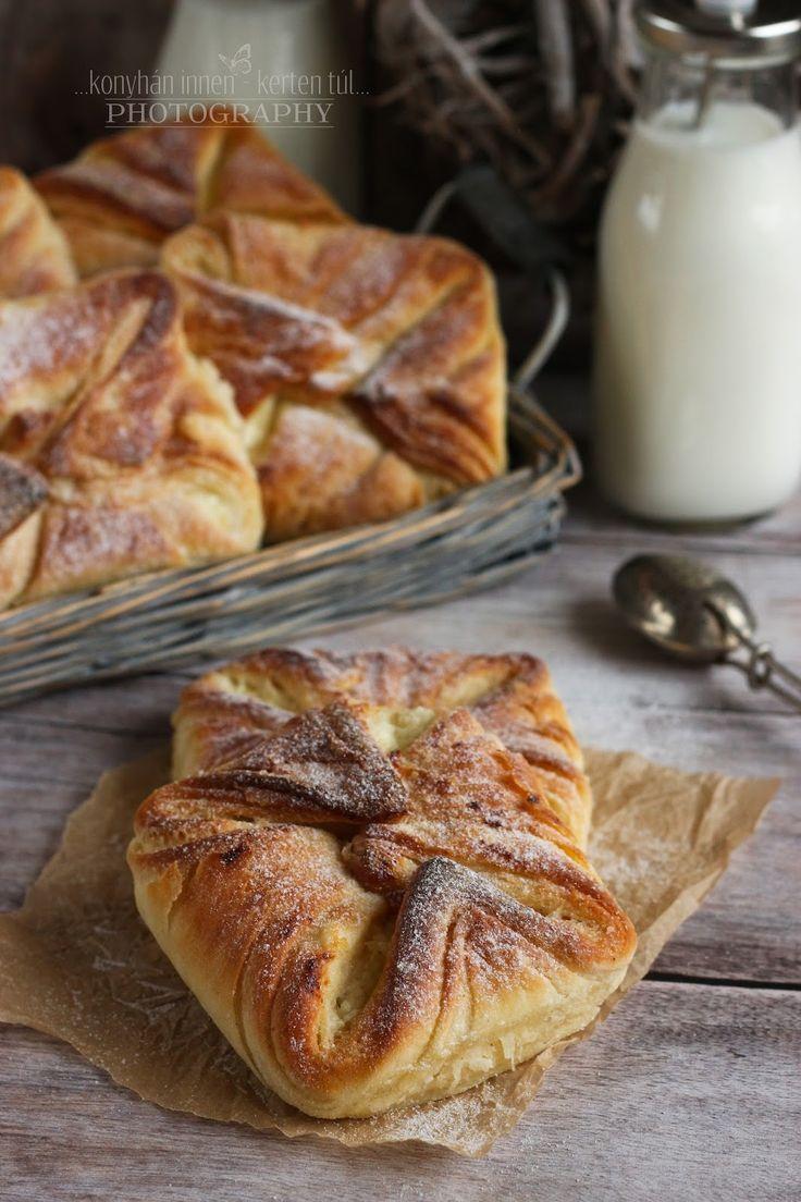 Mi más is készülhetett volna a második adag blundel tésztából, mint túrós batyu. :) Nagyon szeretjük a túrós süteményeket, úgyho...