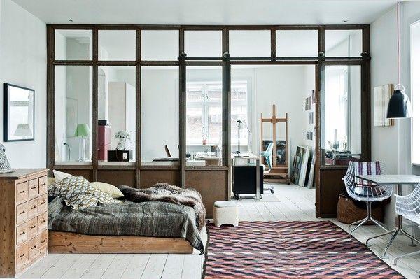 bedroom and office dream. More pics on www.annagillar.se