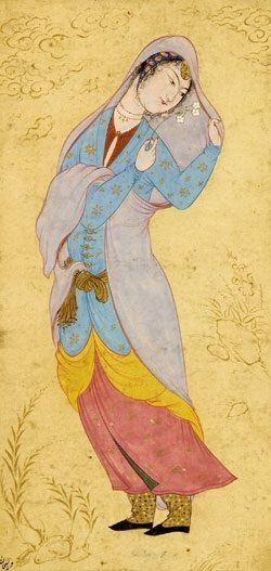 (Riza Abbasi c. 1565–1635)