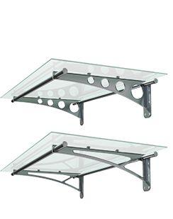 Συστήματα Σκίασης. Τα στέγαστρα εισόδου αποτελούν την ιδανική λύση προστασίας των κύριων εισόδων κατοικιών και επαγγελματικών χώρων από τη βροχή και την ηλιακή ακτινοβολία.  Canopies. Functional as well as decorative, ALUMINCO canopies make a definite statement to a home's entrance.