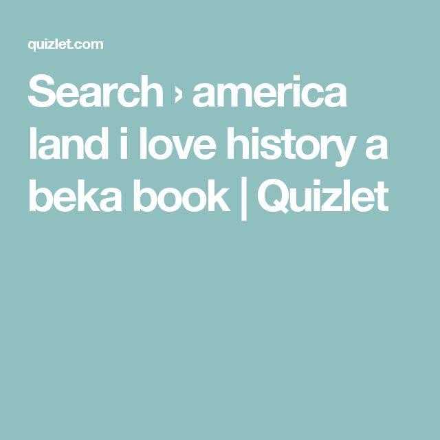 Abeka. America Land I Love 8th Gr History