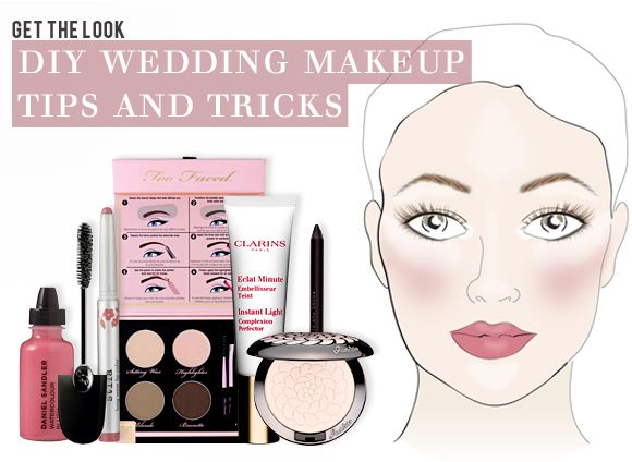 DIY Bridal Makeup Tips And Tricks For Your Wedding Day Look