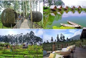 ini Dusun Bambu, tempat wisata favorit di Bandung. yuk segera rencanakan liburan murah kamu di Bandung bersama Qinanatour