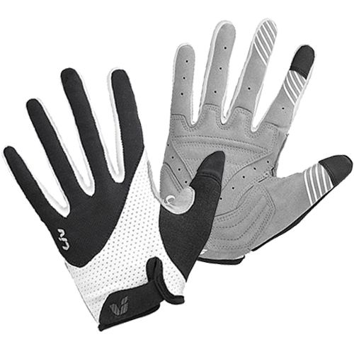 Liv Passion Short Finger Womens cycling gloves feature a reinforced Amara palm with Plush Gel, micro-Velcro & TPR wrist closure and ergo Bolton thumb structure with stretchy areas for improved comfort and grip.