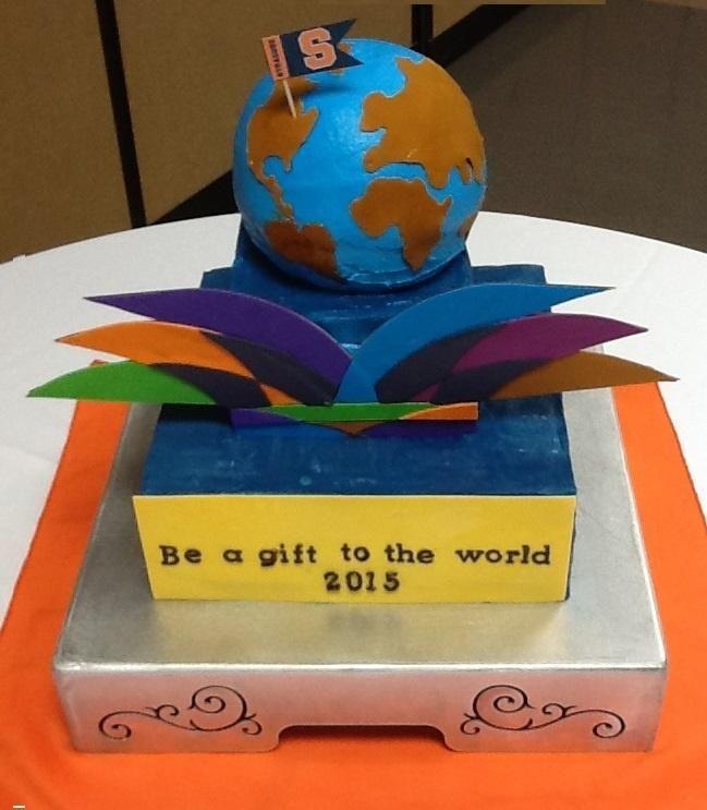 2015 Rotary International Theme,  Rotary club cake