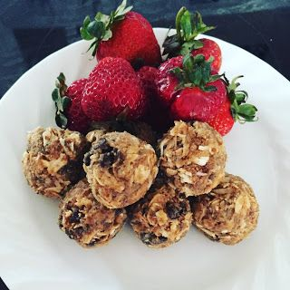 Reason's To Smile!!: recipe Wednesday Energy Balls.