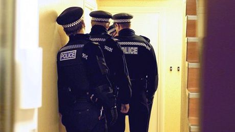 Many believe that if a uniformed officer (or PCSO) knock at the door they have an automatic right to enter our homes. Or, if they ask to be let in and you refuse, you have committed an offence... ...