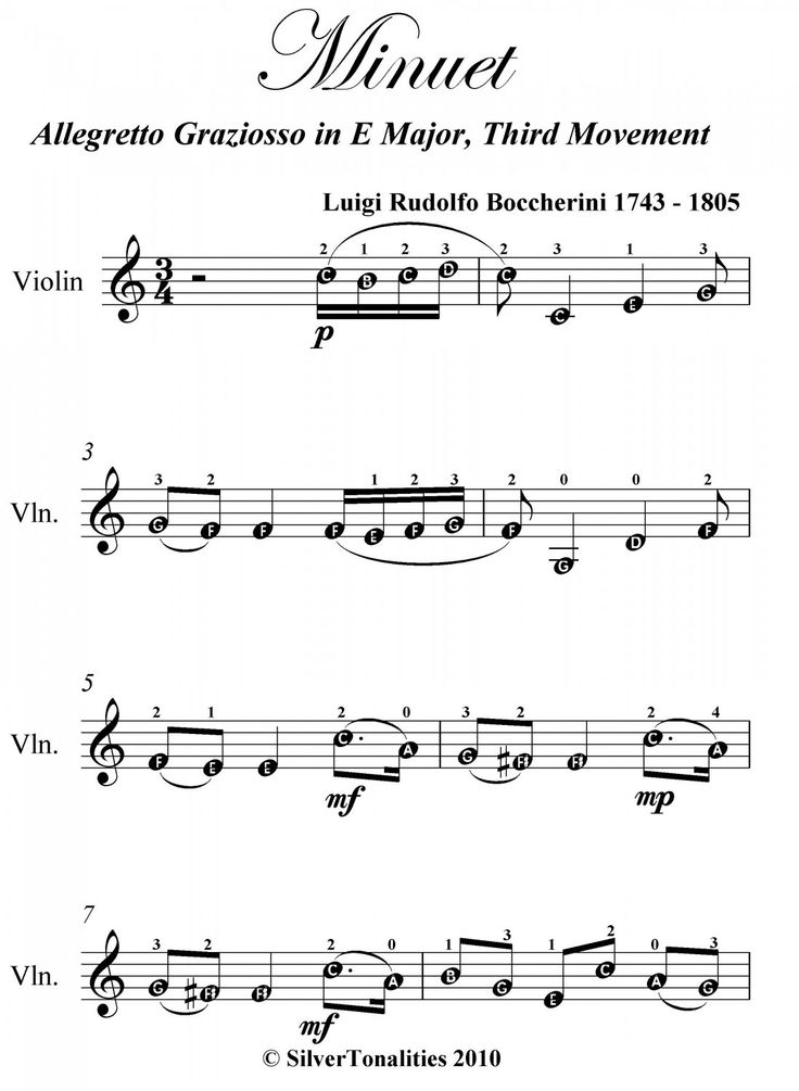 how to read violin sheet music easy