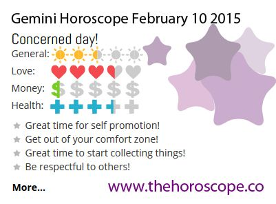 Concerned day for #Gemini on Feb 10th #horoscope ... http://www.thehoroscope.co/horoscope/Gemini-Horoscope-today-February-10-2015-2189.html