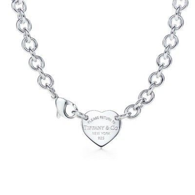 $39.00 Hot sale Return to Tiffany Heart Tag Choker Necklace