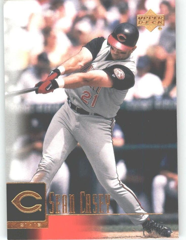 2001 Upper Deck 250 Sean Casey - Cincinnati Reds (Baseball Cards) * This is an Amazon Affiliate link. Click image for more details.
