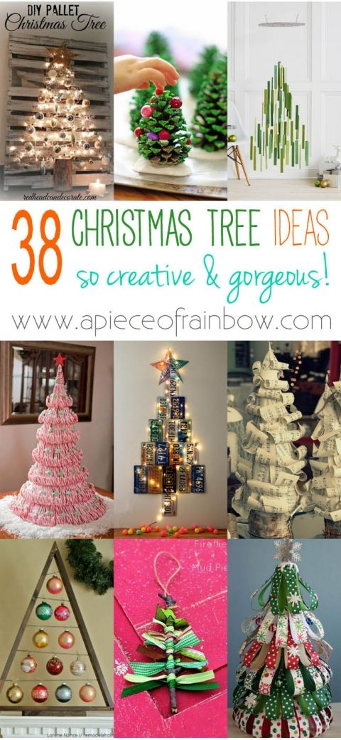 48 Amazing Christmas Tree Ideas 1842 best