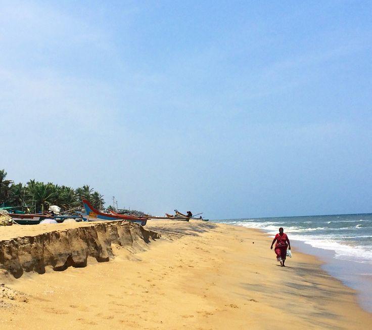 Beach, Mahabalipuram, Southindia