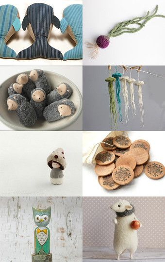 Wonderful Waldorf by Katerina ♡ Orestis on Etsy--Pinned with TreasuryPin.com