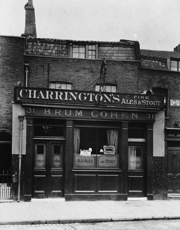 The British Queen, 31 White Horse Lane, E1 (Opened prior to 1843 and closed 1934, now demolished)