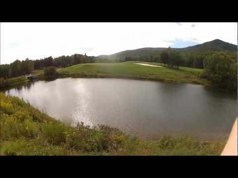 Golfing at Le Grand Vallon in Mont St. Anne, Quebec #golf #golfing #LeGrandVallon #MontStAnne #Quebec #Canada #travel #VLOG #bloggeries #SHABL