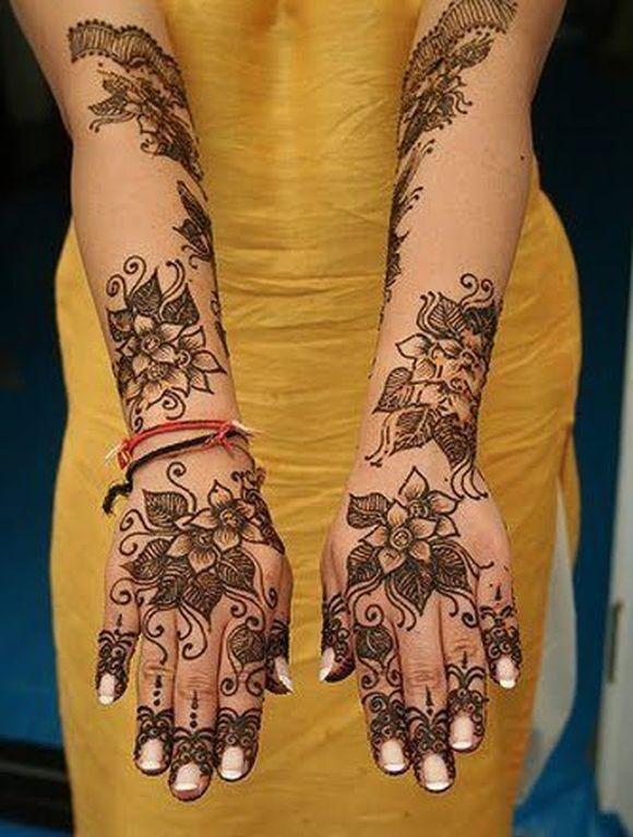 Mehndi For Love : Arabic bridal mehndi designs for full hands