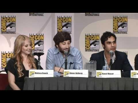 Comic-Con 2011 : The Big Bang Theory Panel Pt. 2