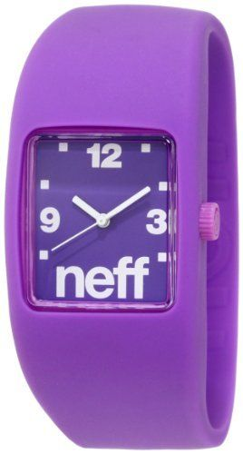 Neff Bandit Watch Purple NEFF. $19.26. Abs Case With Silicon Stretch Band