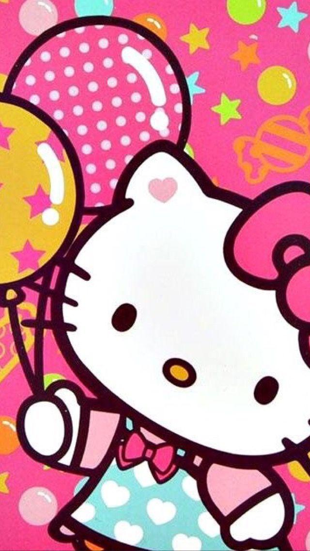 Hello Kitty Wallpaper Size Iphone 5s Kittyfondos Hello Kitty Wallpaper Hello Kitty Coloring Hello Kitty