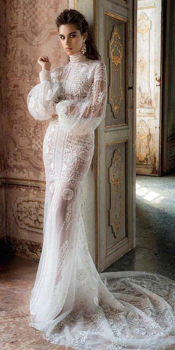 Hottest 21 Wedding Dresses Fall 2018 ❤ See more: www.weddingforwar… #wedding…