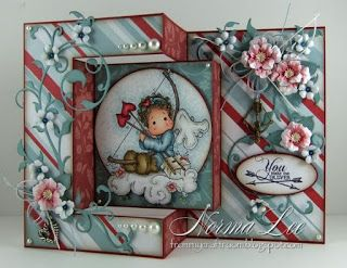From My Craft Room: You Make Me Quiver - Magnolia-licious 'Anything Goes or Bingo'