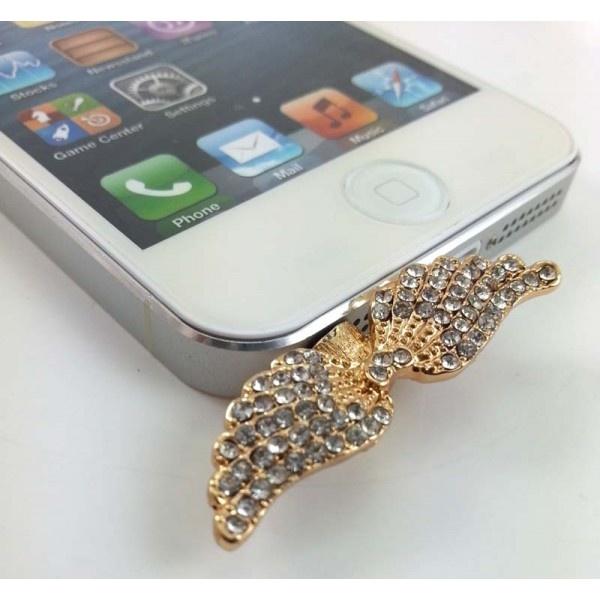 Cep Telefonu Küpesi Wings    3.5 mm Kulaklık girişi olan tüm telefonlarla uyumludur.  Taşları kalitelidir. https://www.telefongiydir.com/3.5-mm-cep-telefonu-kupesi-wings?filter_name=k%C3%BCpe