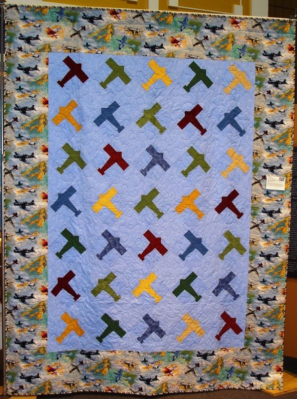 107 Best Airplane Quilts Images On Pinterest Quilt
