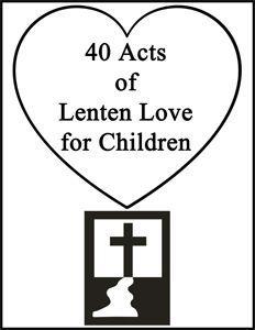 60 best Lent Activities for Kids images on Pinterest