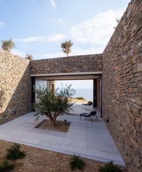 Voronoi's Corrals by DecaArchitecture at Milos Island Greece.