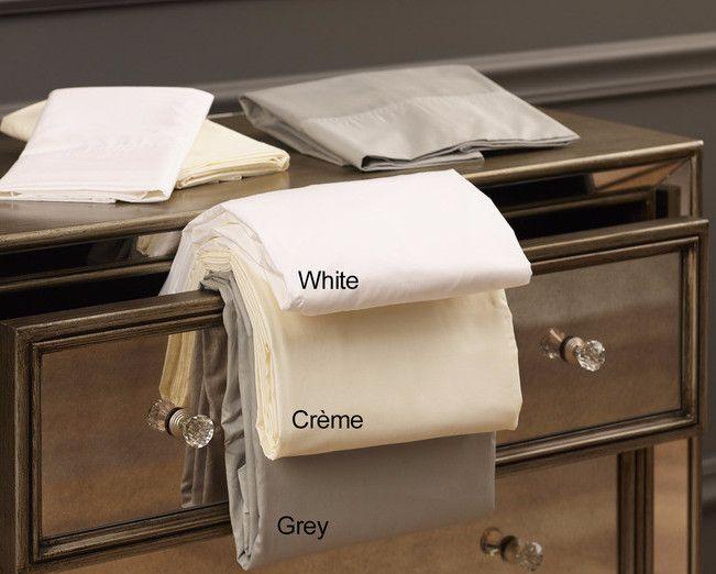 Down Inc. 100% Cotton Sheet Set- Crème