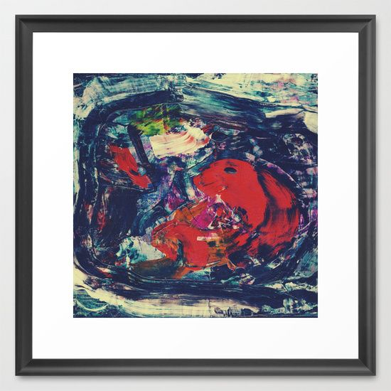 Madness. Framed Art Print