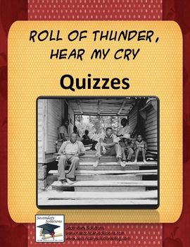 roll of thunder heat my cry A set of questions on each chapter of roll of thunder, hear my cry by mildred d taylor this resource is part of the roll of thunder, hear my cry collection.